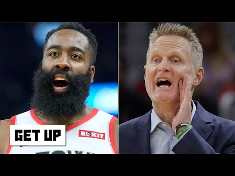 The Warriors successfully stifled James Harden with a tried-and-true defensive approach | Get Up