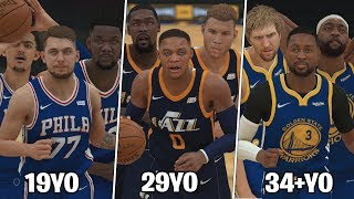 What If NBA Teams Were Based On Age? | NBA 2K19