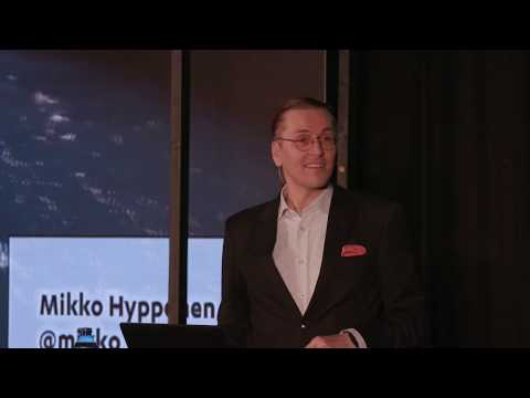 Mikko Hypponen (F-Secure) speaks about the cyberattack WannaCry