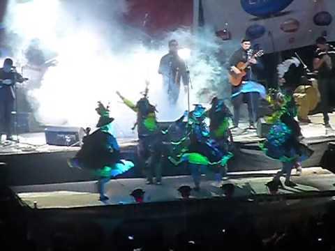 Concierto de los Kjarkas y Chila Jatun en Potosi 2013