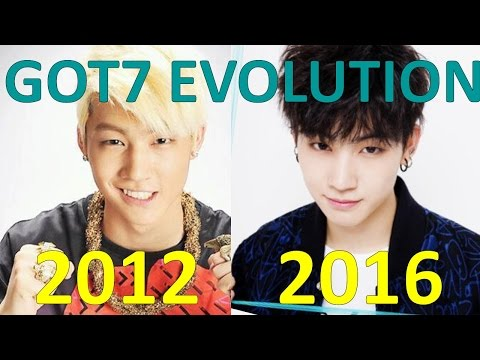 GOT7 EVOLUTION 2012-2016