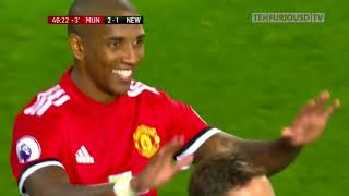 Manchester United vs Newcastle 4 1 Goals and EXT Highlights with English Commentary 2017 18 HD 720p