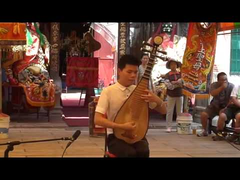 Chinese music - traditional pipa solo by Junhao 《梁間燕》--俊豪琵琶