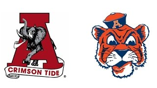 1971 Iron Bowl, #3 Alabama vs #5 Auburn (Bama's Greatest Games)