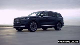 The all-new 2019 Lincoln Aviator Luxury Midsize SUV - Car Videos Online