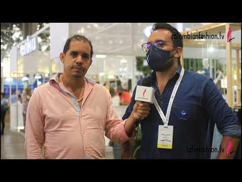Entrevista con el gerente de mercadeo de Comertex en Colombiamoda 2021