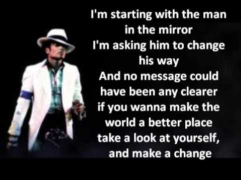Michael Jackson - Man in the Mirror LYRICS HQ