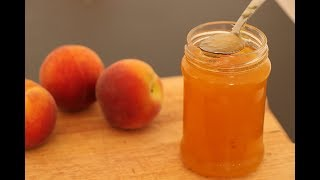 Peach Jam (without preservatives)