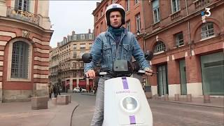 Reportage : les scooters électriques d'Indigo Weel à Toulouse