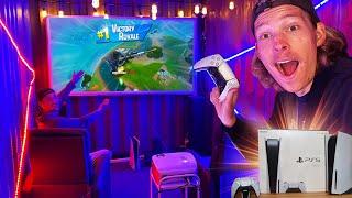 We Built a Secret Gaming Bunker! *PS5*