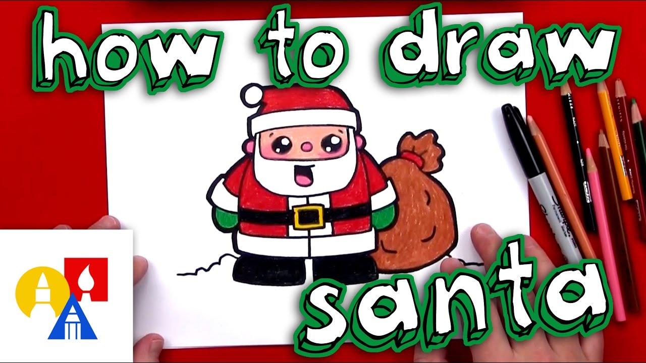 How To Draw Christmas Cartoons