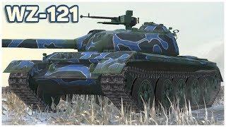 WZ-121 • CHINESE BEAST • WoT Blitz Gameplay