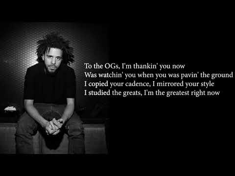 J. Cole - Middle Child Official Lyrics