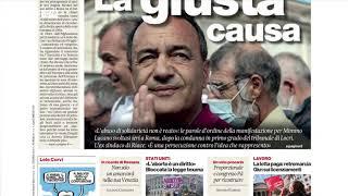 Rassegna stampa, i giornali dell'8 ottobre 2021