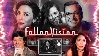 FallonVision with Elizabeth Olsen ft. Kathryn Hahn (WandaVision Parody) | The Tonight Show