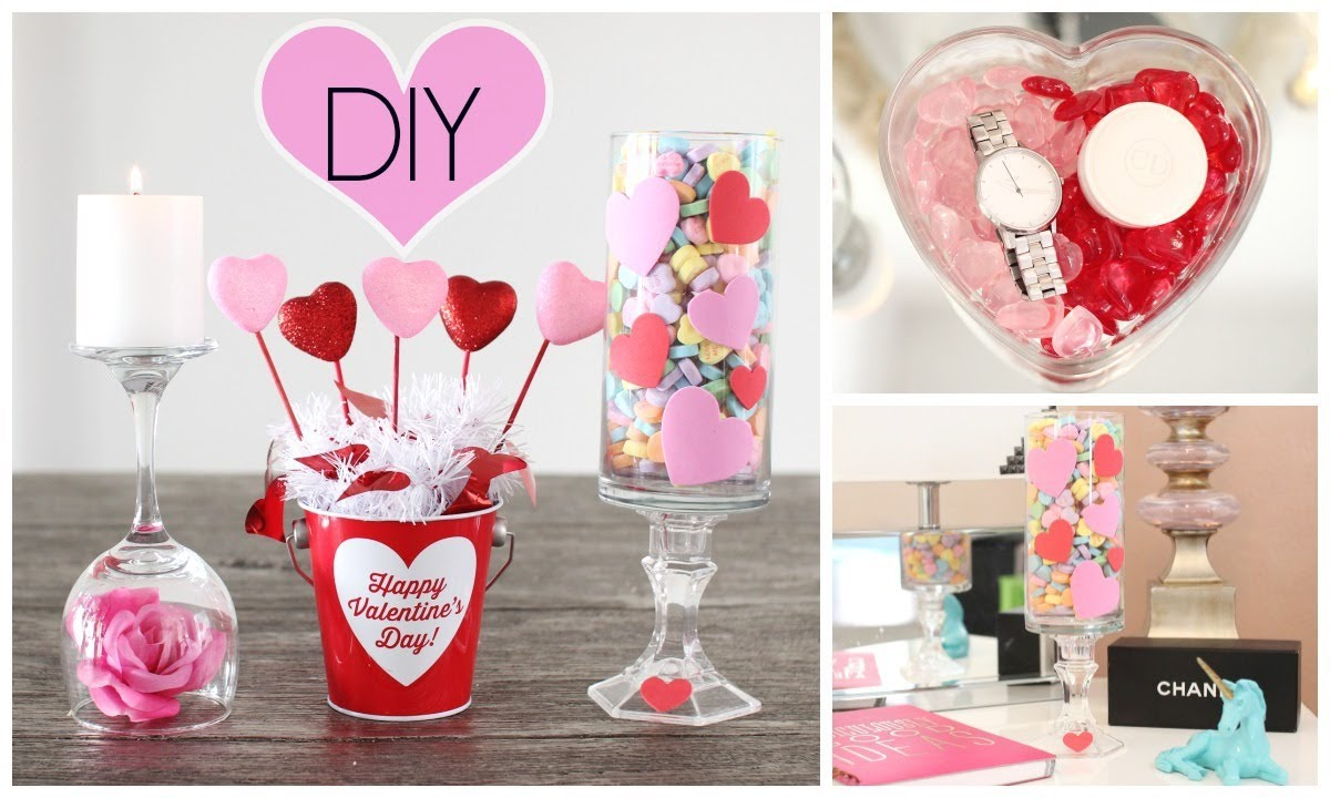 Diy room decor for valentine 39 s day youtube - Valentine day room decoration ...
