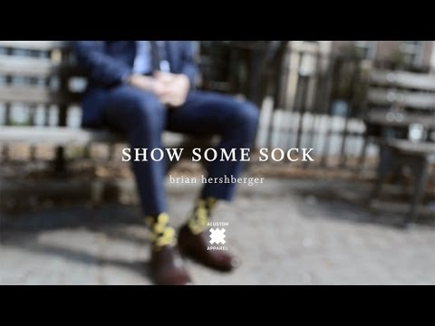 Show Some Sock - Acustom #StyleSchool