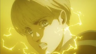 Armin Transforms into Colossal Titan & Wipes out in Attack on Titan Season 4 Episode 7 Eng Sub
