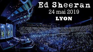 🎤 CONCERT ED SHEERAN ➗   VLOG (Divide Tour - Lyon - 24/05/2019)