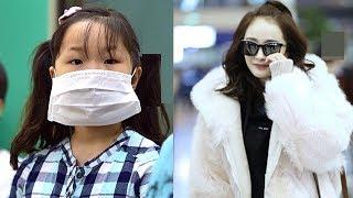 Được Mẹ xinh như hoa hậu đến đón, cô con gái 6 tuổi lấy vội ngay khẩu trang che mặt chỉ vì