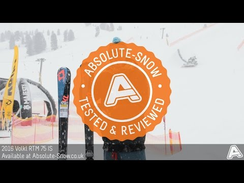 2015 / 2016 | Volkl RTM 75 IS Ski | Video Review