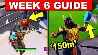Fortnite WEEK 6 CHALLENGES GUIDE! – CHILLY GNOMES, SEARCH AN AMMO BOX AT DIFFERENT NAMED LOCATIONS