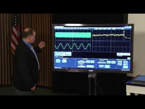 Teledyne LeCroy successfully demonstrates world's first 100 GHz real-time oscilloscope, July 24, 2013 in Thousand Oaks, CA.
