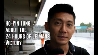 Chinese victory at 24 Hours of Le Mans by Ho-Pin Tung and his team.