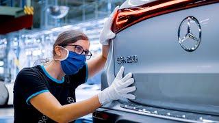 Mercedes-Benz EQA (2021) PRODUCTION – German Electric Car Factory