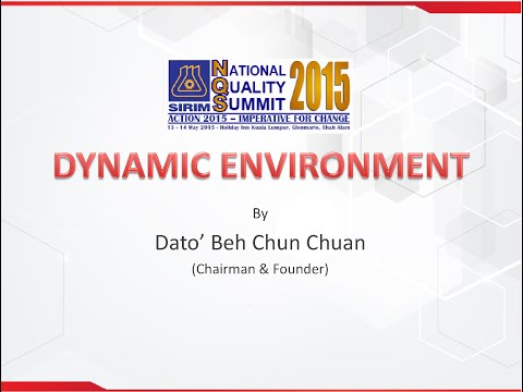 BP Healthcare Group - Dynamic Environment by Dato Beh Chun Chuan