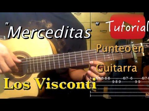 Merceditas - Los Visconti Tutorial/Cover Guitarra