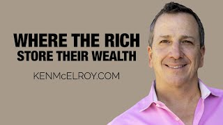 Where do the rich store their wealth...
