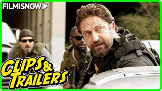 Den Of Thieves release clip compilation & final trailer (2018)