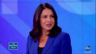 Rep. Tulsi Gabbard on Puerto Rico Protests and Supporters | The View