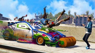 THESE VEHICLES WERE MADE TO TROLL PEOPLE! *ARENA WAR DLC UPDATE!* | GTA 5 THUG LIFE #195