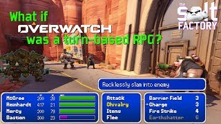 What if Overwatch was a Turn-Based RPG?