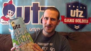 Utz Quality Foods Review #22 Cotton Tails White Cheddar Cheese Balls!