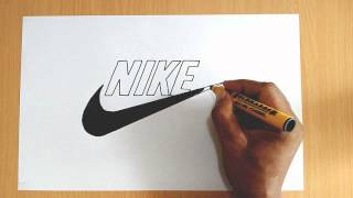 How to Draw the Nike Logo