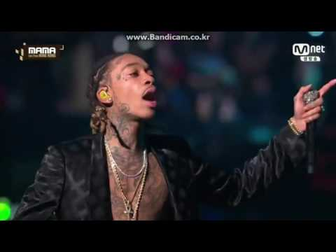 2016 MAMA (Wiz Khalifa - See You Again)