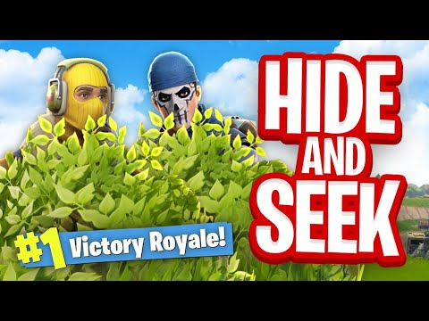 *NEW* HIDE & SEEK Custom Gamemode (Fortnite Battle Royale)
