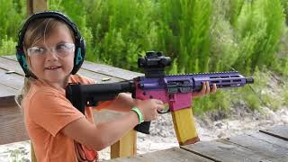 The Most Amazing 7 Year Old On YouTube Autumn's Armory
