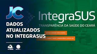Dados atualizados no Integrasus, do Covid-19
