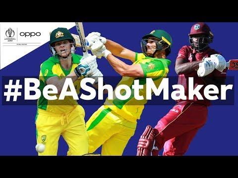 Oppo #BeAShotMaker | Australia vs West Indies - Shot of the Day | ICC Cricket World Cup 2019