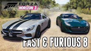 Fast & Furious 8 - Trailer Car Battle! (Build + Street Racing)    Forza Horizon 3