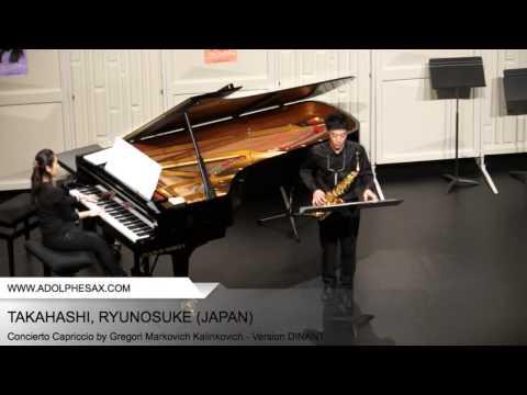 Dinant 2014 - TAKAHASHI, RYUNOSUKE (Concierto Capriccio by Gregori Markovich Kalinkovich - V.DINANT)