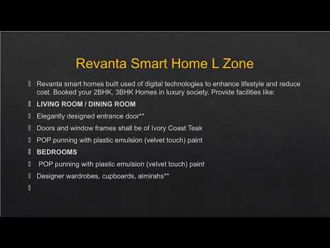 Buy Affordable Apartment in Revanta Smart Residency