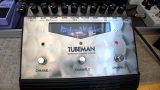 Hughes and Kettner, Tubeman 2 preamp demo, Msm workshop