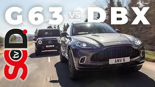 Aston Martin DBX vs Mercedes-Benz G63 | Supercar Driver