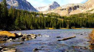 4 Hours Mountain Stream - Relaxing Nature Sounds
