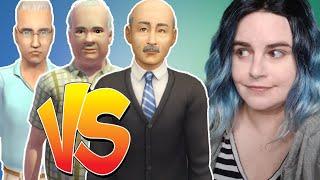 ELDERS COMPARED! Sims 2 vs. Sims 3 vs. Sims 4